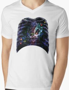X-ray chest Mens V-Neck T-Shirt