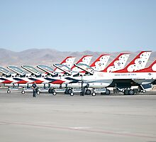The Thunderbirds by gladyanne