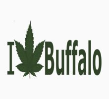 0153 I Love Buffalo by Ganjastan