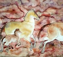 Cave Gallop by Neely Stewart