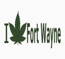0154 I Love Fort Wayne by Ganjastan