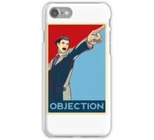 Objection - R/B iPhone Case/Skin