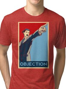 Objection - R/B Tri-blend T-Shirt