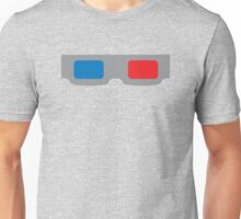 3d Glasses 1980s Cardboard Unisex T-Shirt