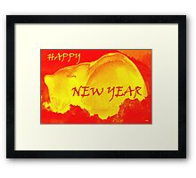 HAPPY NEW YEAR 86 Framed Print