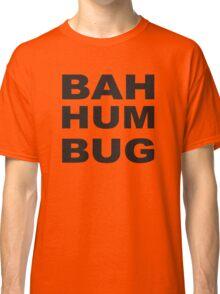 Bah Hum Bug Scrooge Christmas Charles Dickens Classic T-Shirt
