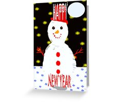 HAPPY NEW YEAR 87 Greeting Card