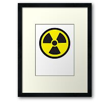 Biohazard Sign Framed Print