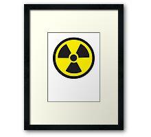 Biohazard Sign Framed Print