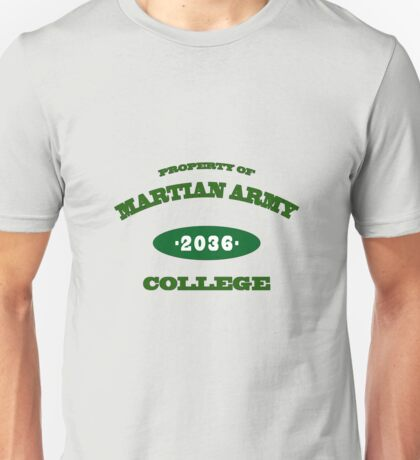 Property of Martian Army College Unisex T-Shirt
