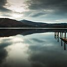 Nightfall over Derwent Water by Jason Smalley