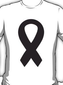 Black Bow Ribbon T-Shirt