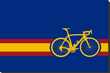 Bike Stripes Spanish National Road Race by sher00