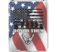 Honor Them-Air Force iPad Case/Skin