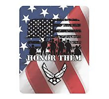 Honor Them-Air Force Photographic Print