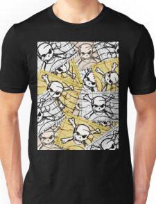 Funny Skull Stamp Unisex T-Shirt