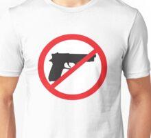 Anti-Guns Sign Unisex T-Shirt