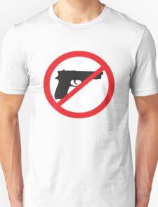 Anti-Guns Sign T-Shirt