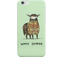 Wooly Jumper iPhone Case/Skin