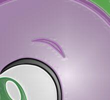 Spike Stylized Head Sticker