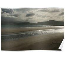 Beach in Ireland Poster