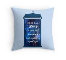Doctor who - Stories Throw Pillow