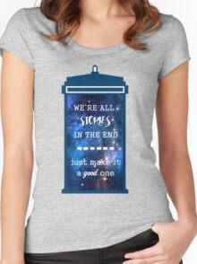 Doctor who - Stories Women's Fitted Scoop T-Shirt