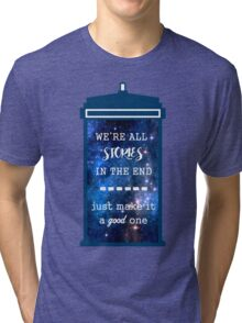 Doctor who - Stories Tri-blend T-Shirt