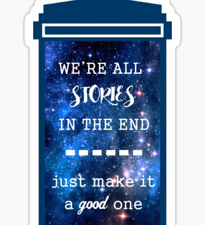Doctor who - Stories Sticker