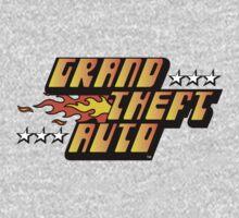 Grand Theft Auto (First, Original Logo) Kids Clothes
