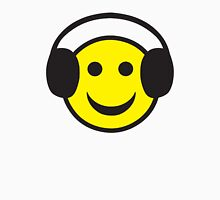 Rave Smily Headphones Unisex T-Shirt