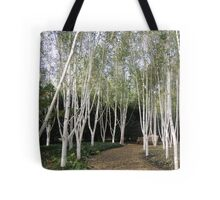 White Avenue Tote Bag