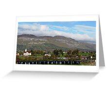Benbulben Mountain Landscape, Ireland Greeting Card