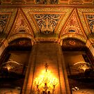 Looking Up the Palmer House by Adam Bykowski