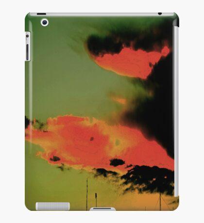 Fire in the Sky. iPad Case/Skin