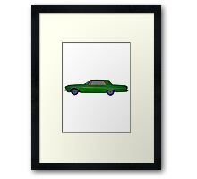 1963 Plymouth Fury Framed Print