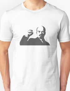 POWER WITH LENIN  Unisex T-Shirt