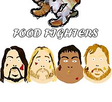 Food Fighters by RockandRoll Maker