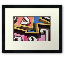 Big Small World Framed Print