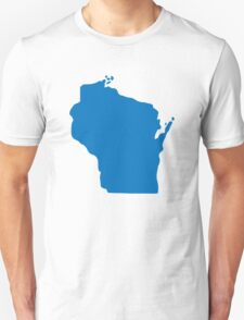 Wisconsin USA State T-Shirt