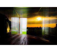 The Open Door Photographic Print