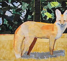 """Red foxy"" by Richard Robinson"