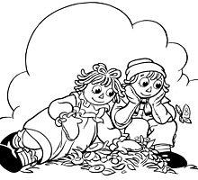 Summertime Raggedy Ann & Andy by redbot
