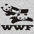 WWF panda wrestling  by lewislinks