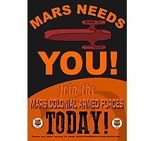 MCAF Recruiting Poster Photographic Print