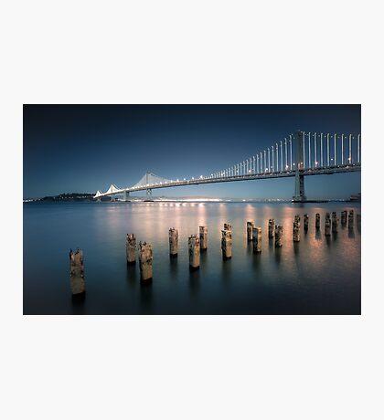 The Bay Bridge Natural Photographic Print