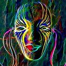 Fractal Mask by suzannem73