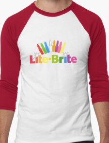 Lite Brite- Retro Toys Men's Baseball ¾ T-Shirt