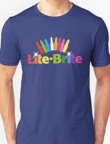 Lite Brite- Retro Toys Unisex T-Shirt