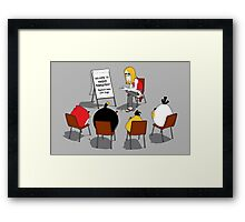 Anger Management Framed Print